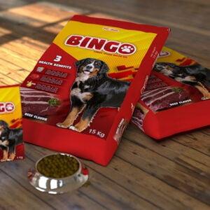 15 kg dog food packaging